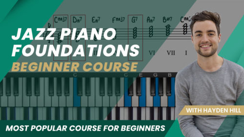 Jazz Piano Foundations